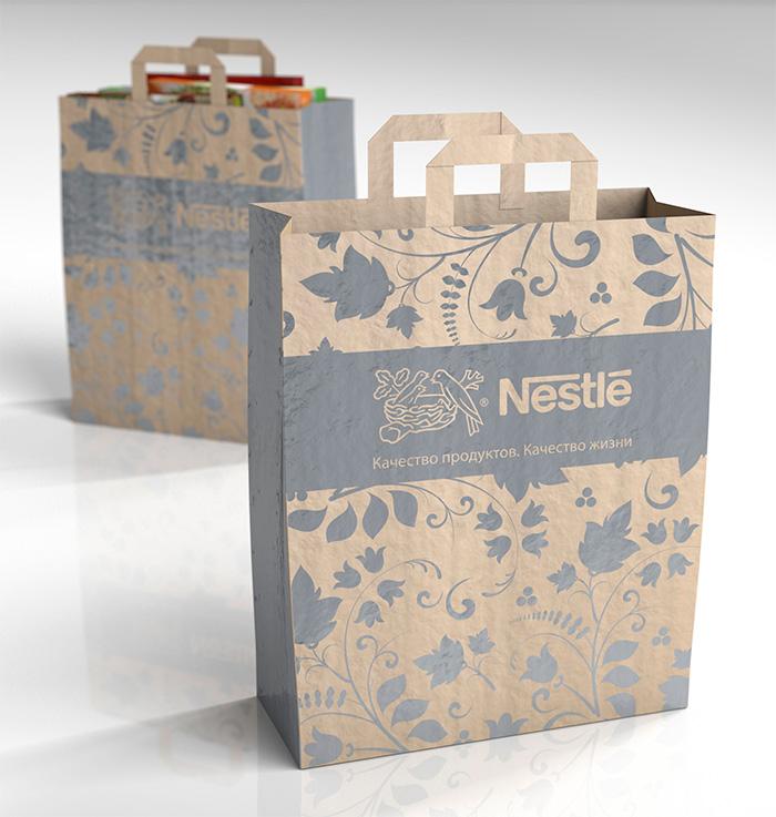 Дизайн упаковки пакет